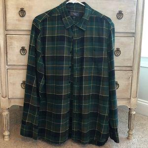 Wallin & Bros flannel button down